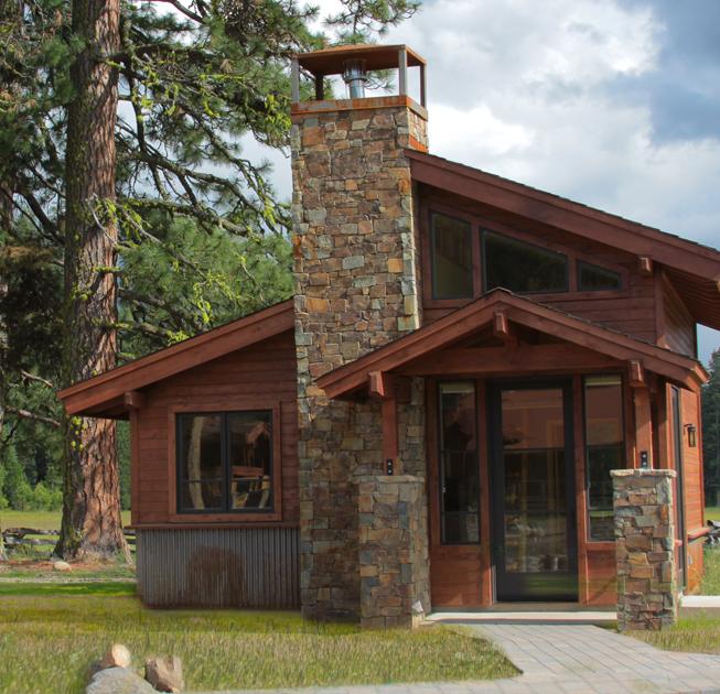 Cottage lodging lassen volcanic national park timber for Lassen volcanic national park cabins